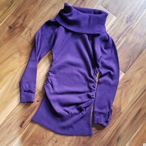 Purple super flattering sweater